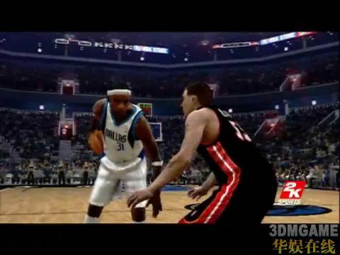 素质大幅提升![NBA Live 07]实际游戏演示下载