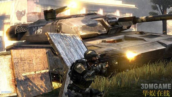 强化战车对战!《前线:战火之源》新情报
