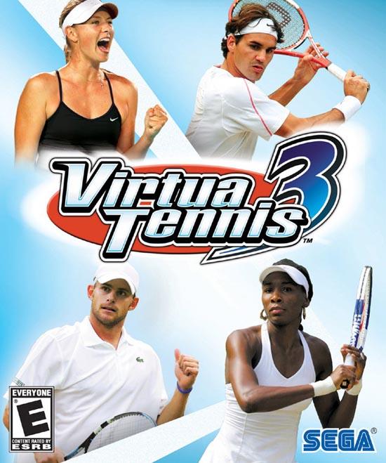 网球游戏的经典范例![VR网球3]评论