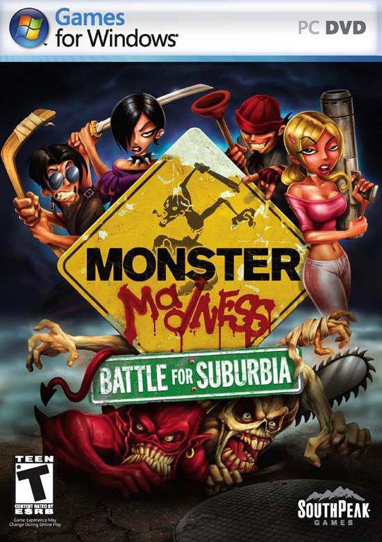 另类游戏[怪物也疯狂:郊区之战]发售