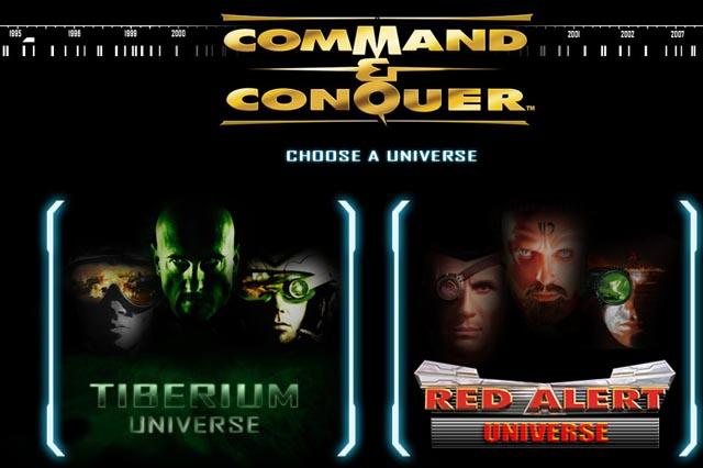 回顾经典过场影片《命令与征服》系列电影网站启用