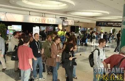 2008年游戏开发者大会与会人数在创新高