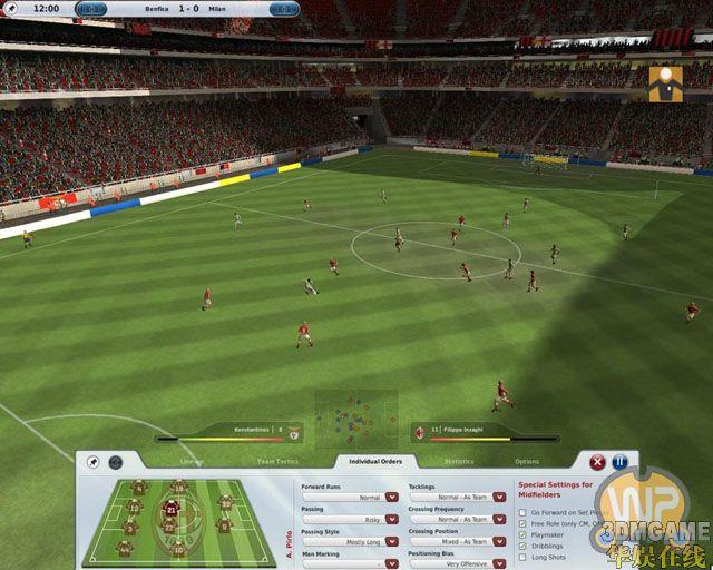 EA宣布《FIFA足球经理09》 首批截图放出