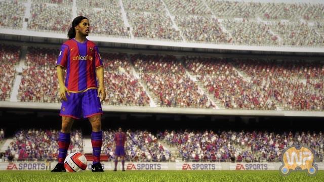 EA正式宣布《FIFA 09》 首批截图亮相