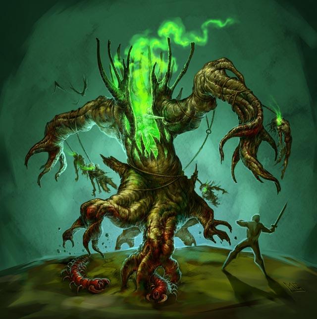 《暗黑破坏神3》敌人介绍:扭木
