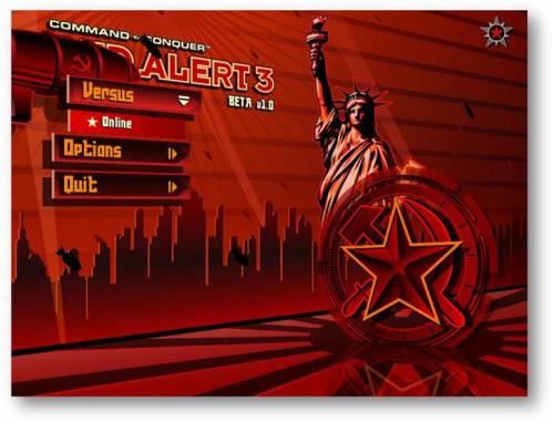 《红色警戒3》多人测试活动即将展开