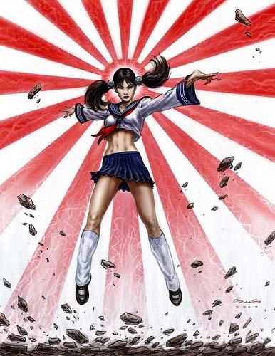 《红色警戒3》日本女兵形象引宅男抗议!