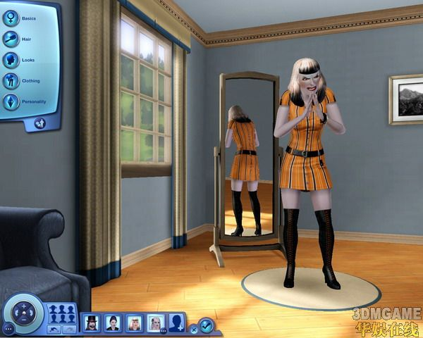 《模拟人生3》玩家可创建吸血鬼角色!