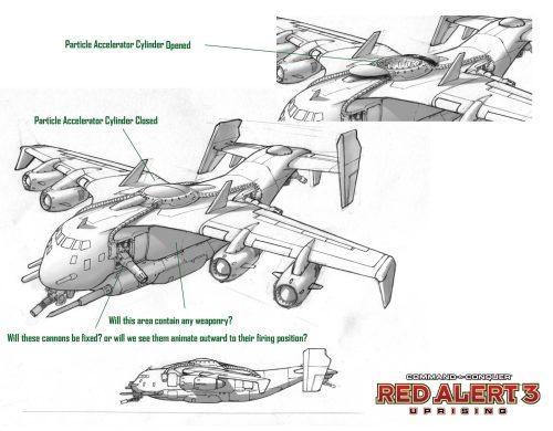 《红色警戒3:起义时刻》单位介绍:先驱者炮艇机