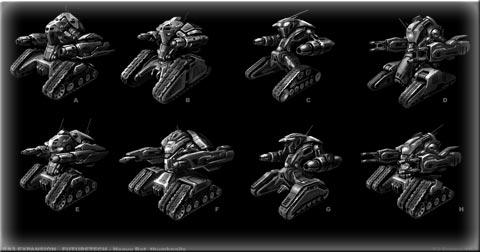 《红色警戒3:起义时刻》单位介绍未来坦克X-1