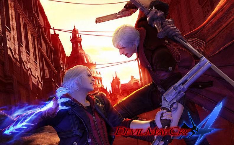 传CAPCOM将在E3 2009上公布谜之新作《鬼泣5》