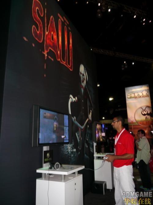 <b>Konami展出《电锯惊魂》带来深层恐惧</b>