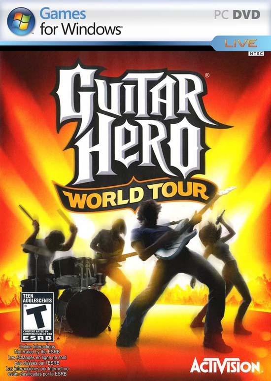<b>音乐游戏精品《吉他英雄:世界巡演》发布</b>