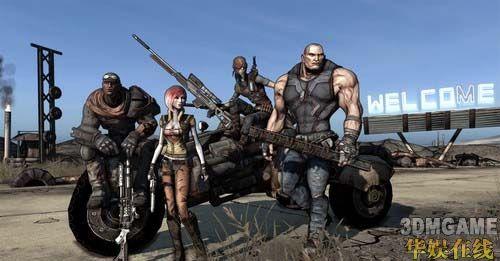<b>Gearbox科幻FPS《无主之地》10月底与玩家见面</b>