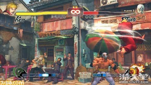 《街头霸王4》XBOX360版KEN白菜攻略视频图文角色卖图片