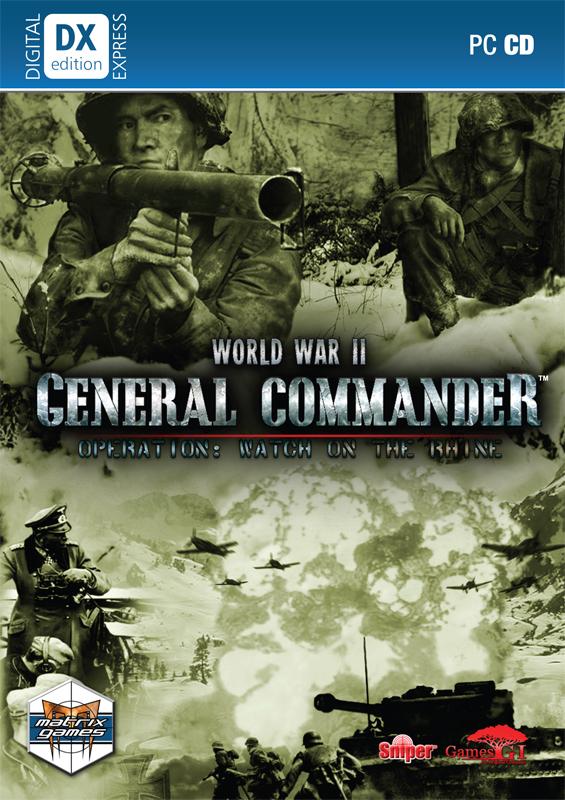 复杂战略游戏《二战总指挥官》发布