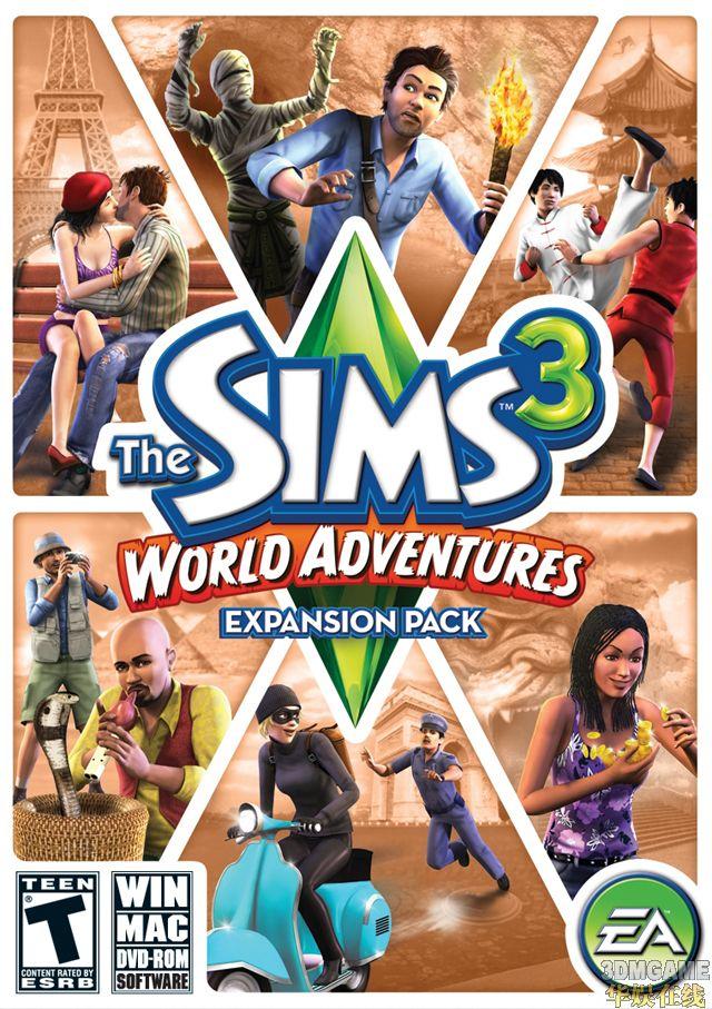 新作首部资料片《模拟人生3:世界冒险》发布