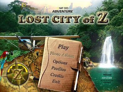 依然是找茬游戏《国家地理探险:失落Z城》发布