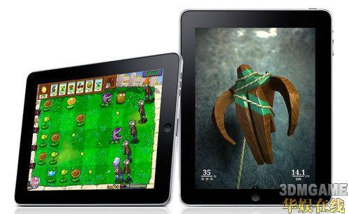 iPad平台《植物大战僵尸》HD版下载数惊人