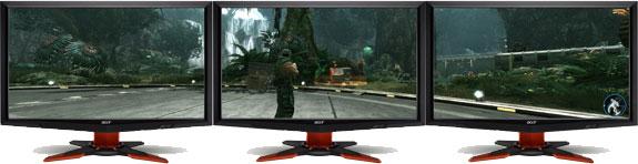 "Nvidia推出""3D立体幻镜""通过多显示器实现3D技术"