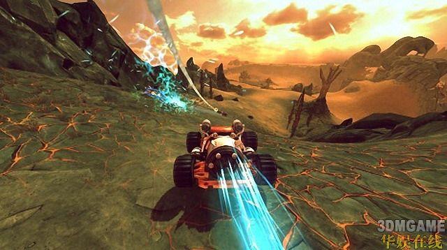 水彩渲染风格赛车游戏《Crasher》预览