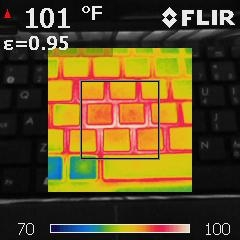 AMD APU、Intel Atom温度、高清对比