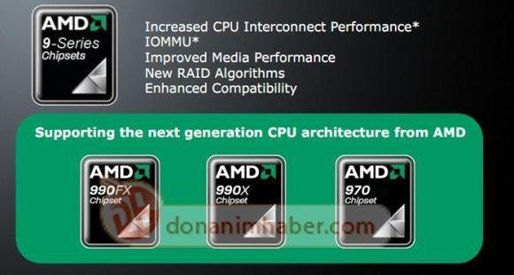 <b>AMD 9系列推土机芯片组官方文档曝光</b>