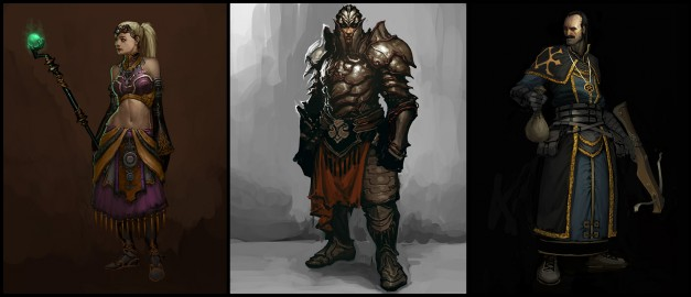 法师圣骑士和恶棍《暗黑破坏神3》追随者视频揭秘