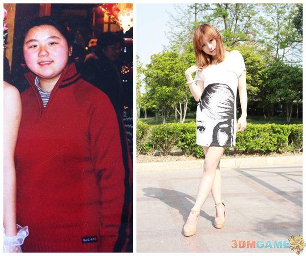 芙蓉简直弱爆了 小胖妹为参加CJ减肥狂瘦80斤