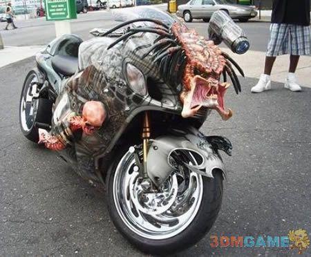 回头率百分百 史上最拉风的5辆摩托车