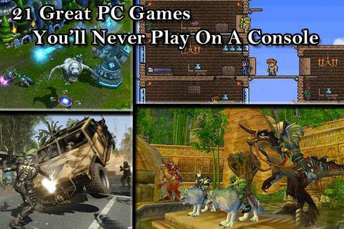 在主机平台 你永远都玩不到的21大经典PC游戏