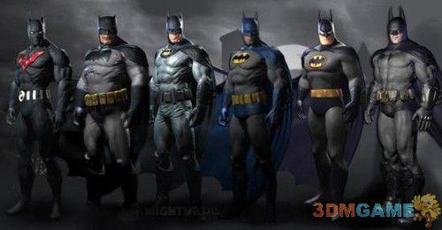 """正太、怪蜀黍应有尽有 各年代""""蝙蝠侠"""""""