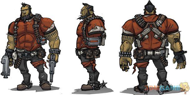 《无主之地2》强力新职业:狂枪手详细介绍