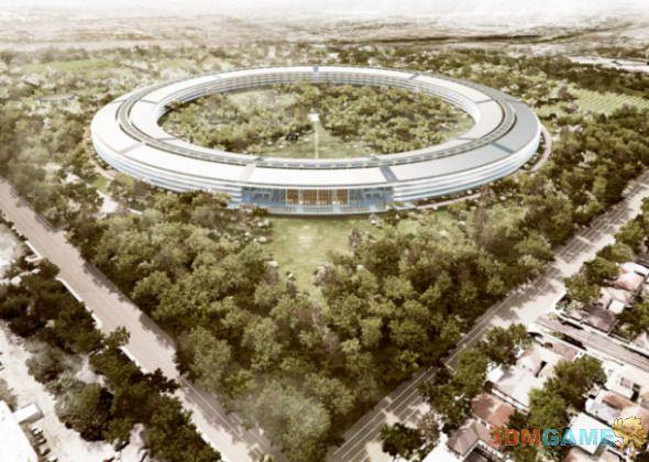 苹果新总部细节曝光 可容纳1.3万人似宇宙飞船
