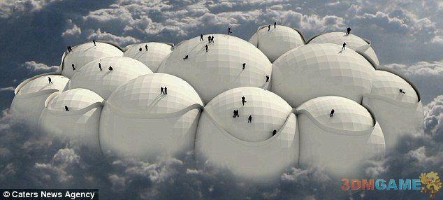 在云端漫步!国外建筑师打造真实筋斗云