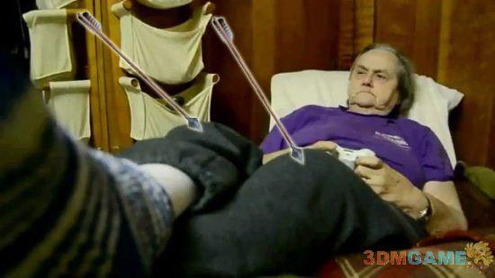 75岁高龄游戏祖母 游戏狂热劲头不输年轻人