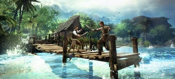 海盗主题RPG游戏《崛起2:黑暗水域》新截图公布