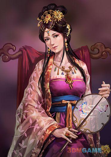 《三国志12》今日武将介绍 甄氏美貌倾城