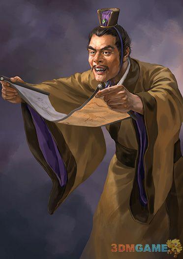《三国志12》今日武将介绍 首席丑男张松