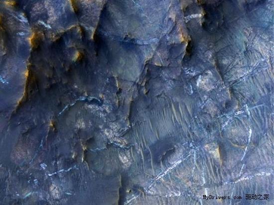 <b>本周太空图精选:火星裸露矿脉</b>