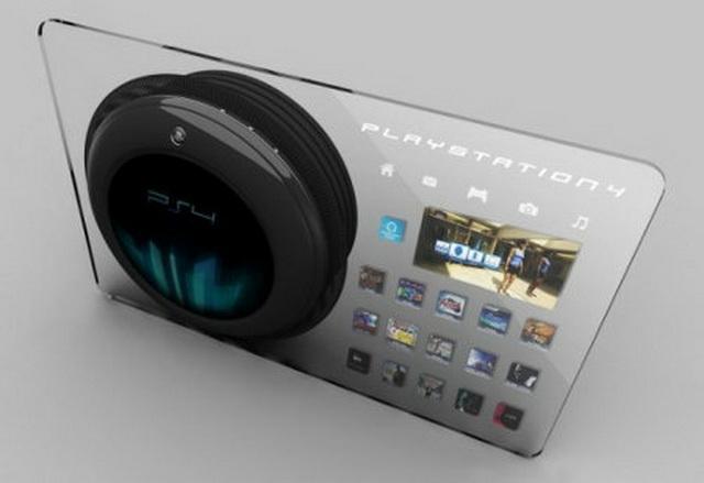 PS4能够采取AMD芯片 日媒称来年面世 主机概念图