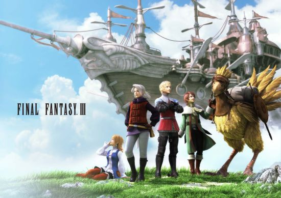 《最终幻想3》将推出中文版 截图首曝