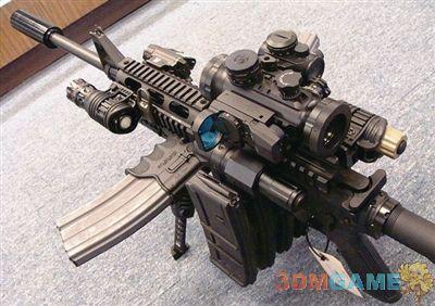 """美国枪械店主发明""""僵尸克星""""步枪 堪称""""枪神"""""""