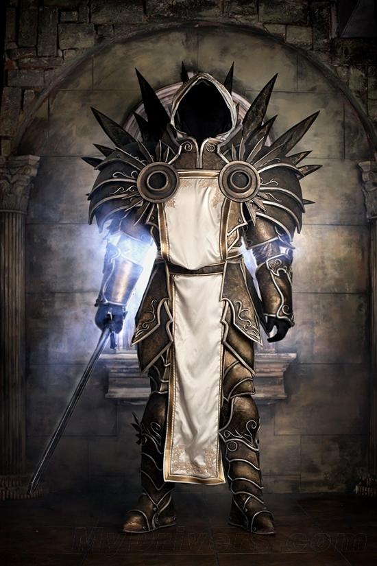 水灵灵的莉娅 《暗黑破坏神3》绝美cosplay欣赏图片