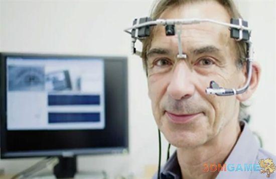 新技术的福音:瘫痪者也能用眼睛写微博