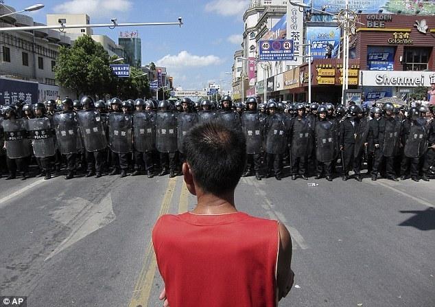 <b>反對日企在華排污 多圖帶你看江蘇啟東散步事件</b>