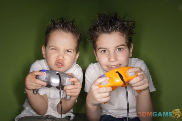 国外研究称别让孩子玩游戏超过两小时