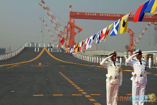 美国军事专家称 中国辽宁号航母尚无作战能力