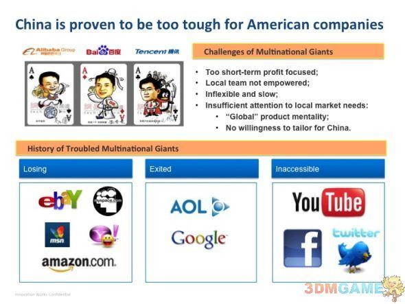 李开复:为什么美国互联网公司兵败中国?
