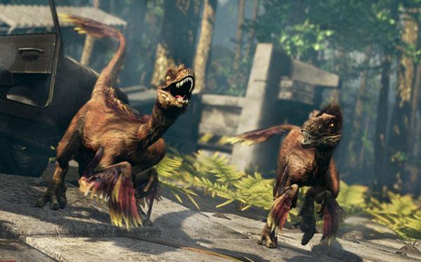 《原始杀戮》10月底震撼登场 和恐龙大战300回合!